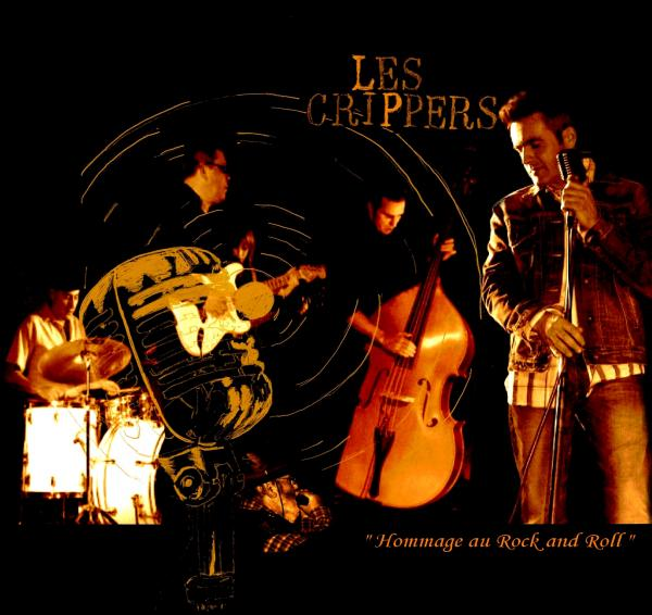 """CD des CRIPPERS - """"Hommage au Rock and Roll""""  L_499e10"""