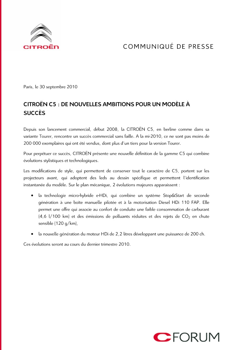 [Topic officiel] Citroën C5 II restylée 114