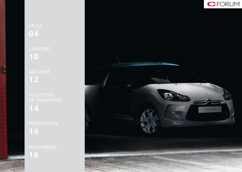 [DOCUMENTATION] Citroën DS3 Access55