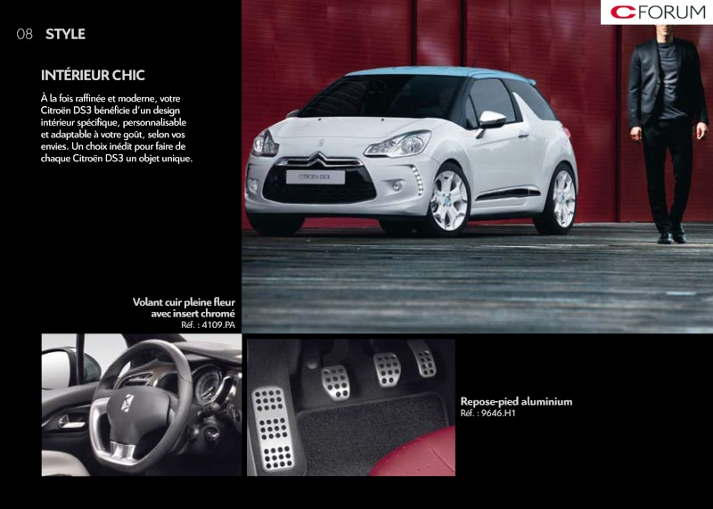 [DOCUMENTATION] Citroën DS3 Access62