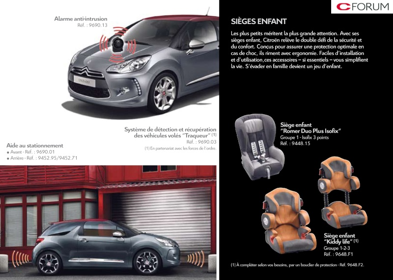 [DOCUMENTATION] Citroën DS3 Access67