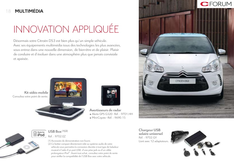 [DOCUMENTATION] Citroën DS3 Access72