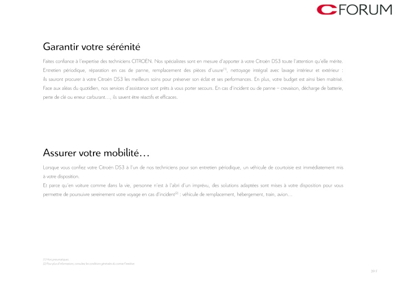 [DOCUMENTATION] Citroën DS3 Catal141