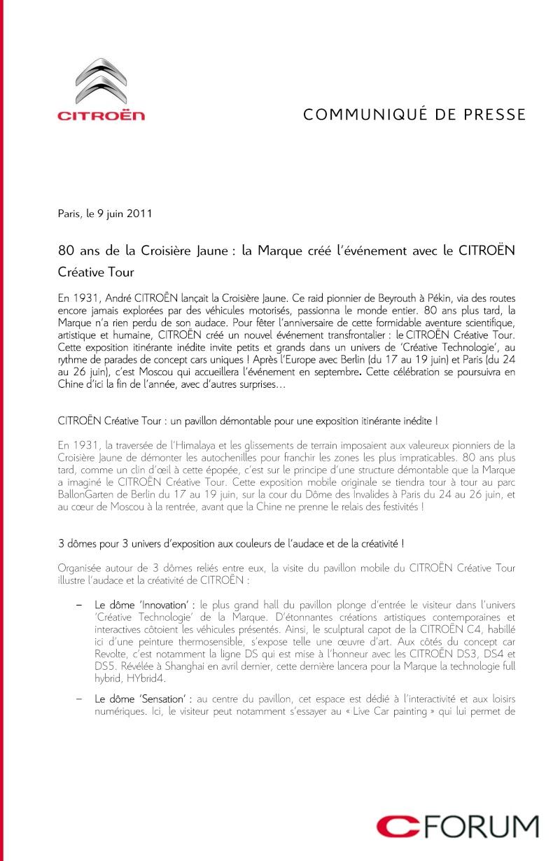 [EXPOSITION] Citroën Creative Tour Citroe45