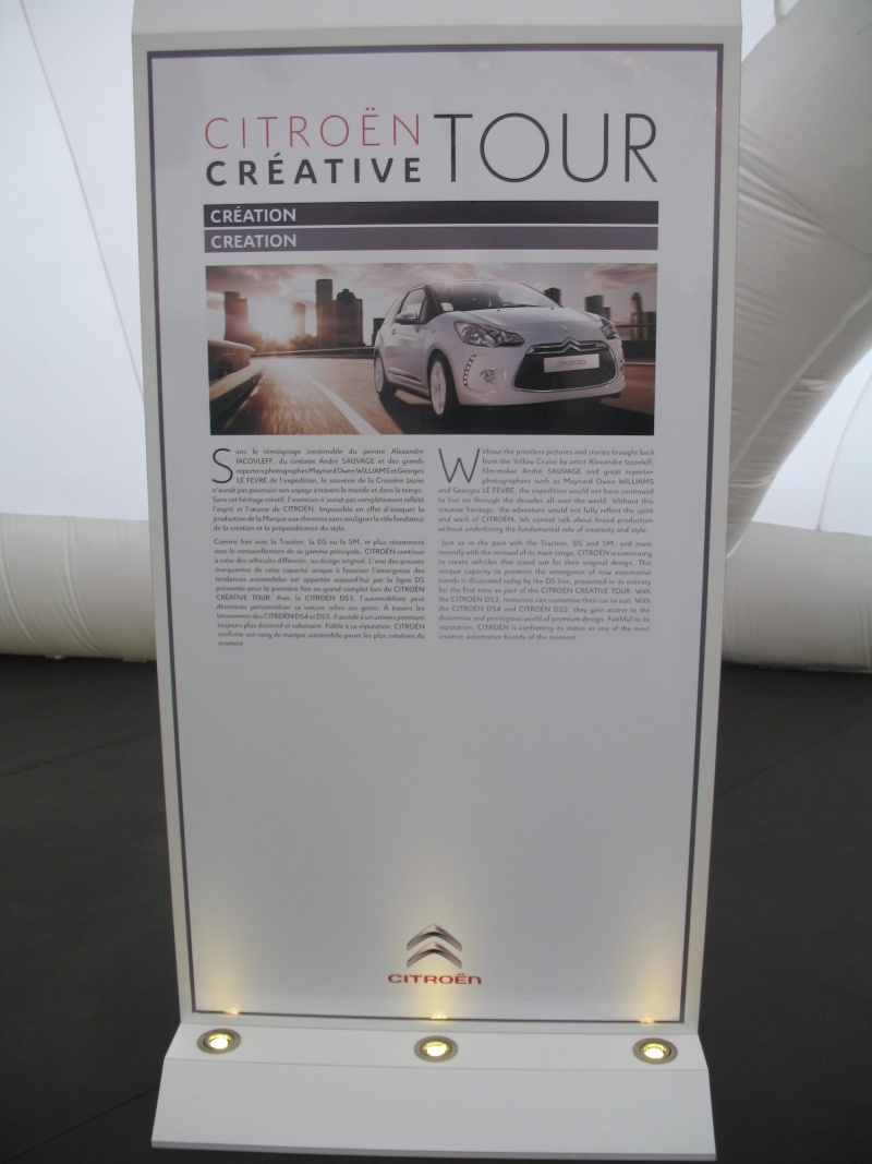 [EXPOSITION] Citroën Creative Tour - Page 2 Img_1625