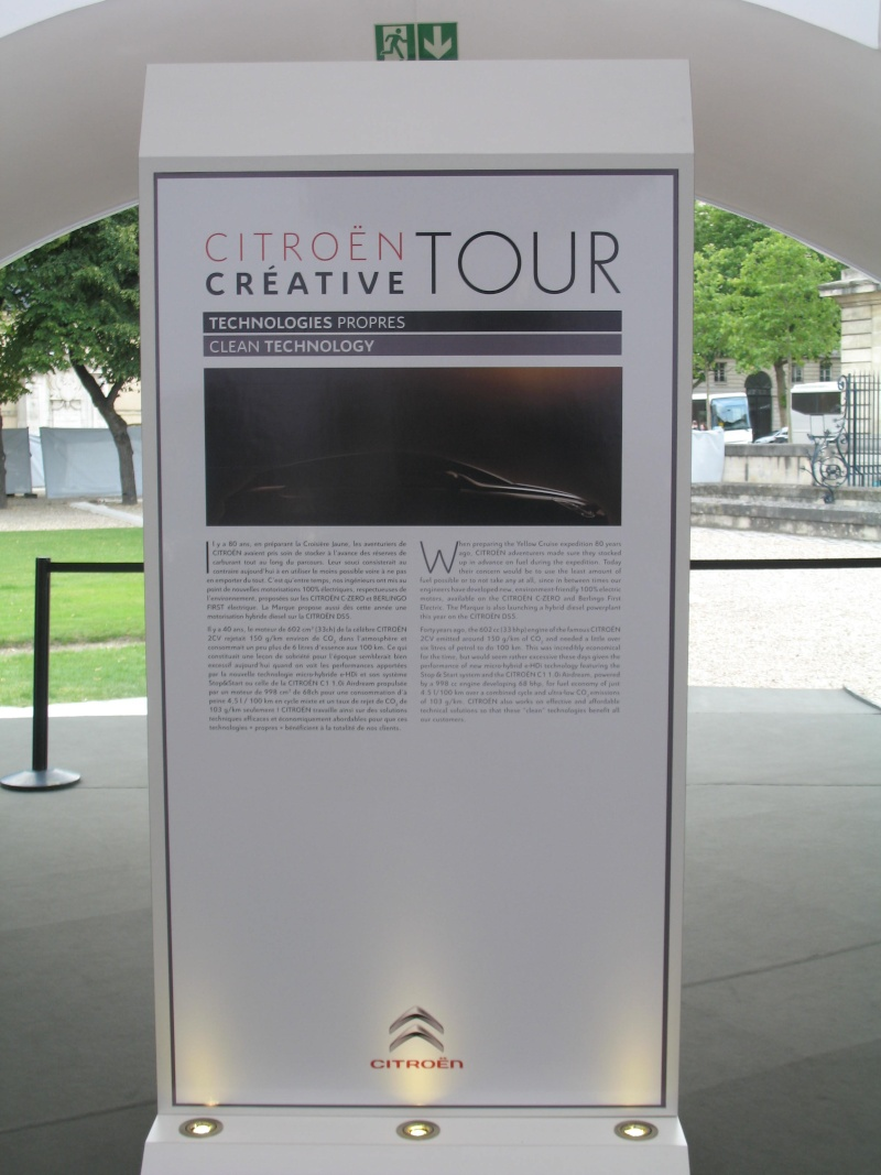 [EXPOSITION] Citroën Creative Tour - Page 2 Img_1654