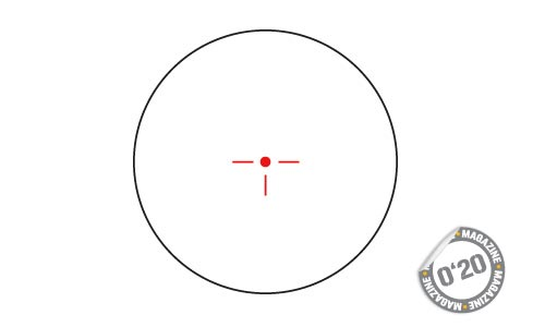 Punto rojo ACOG: ACTION AH-HRS1 3_410