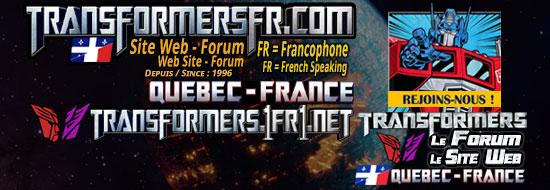 Forum Transformers et Site web