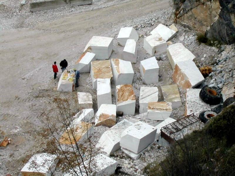 Marbre Blanc de Carrare, Toscane, Italie. 5983510