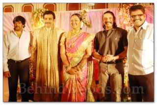 Actress Vindiya Wedding Reception Vindiy10