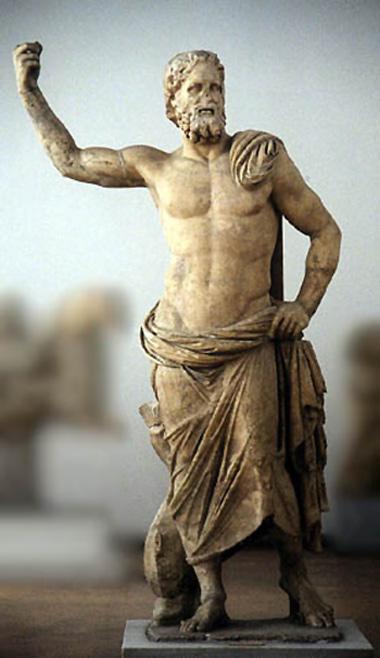 Ποιος ήταν ο θεός των σεισμών... Marble10