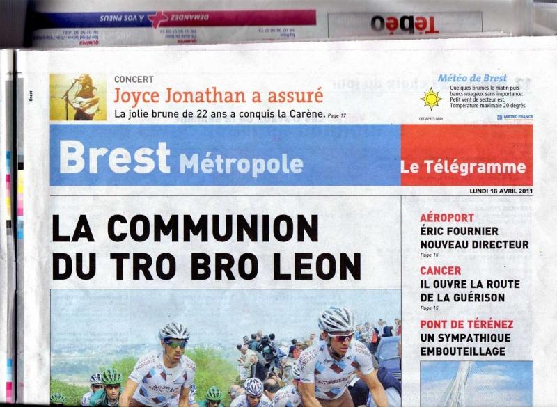 Le télégramme 18/04 (édition de Brest) Img00311