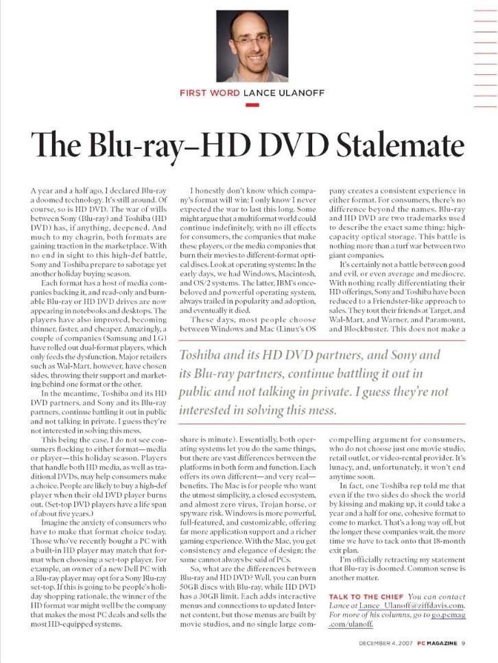 HD DVD vs BLU-RAY   ||Sony vs Toshiba|| Hdvd_v10