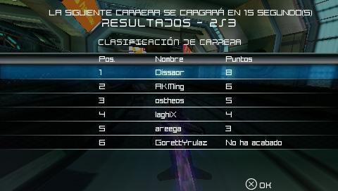 PRIMER Torneo WipEout Energy (Terminado) Screen11