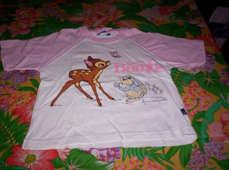 """Tee-shirt """"Bambi"""" 100_3120"""