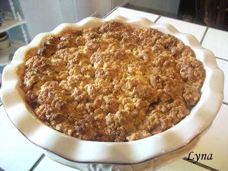 Croustade aux pommes et canneberges Croust12