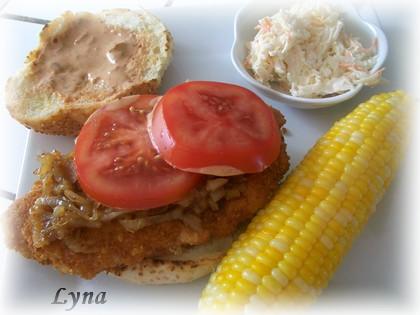 Hamburger filet de poulet Hambur13