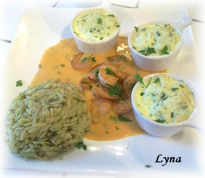 Mousseline de poisson, sauce Nantua Mousse12
