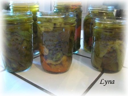Pimiento (marinade de poivrons) Poivro16