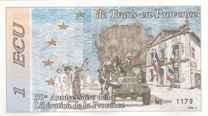 Premiers billets en Ecu/Euro 00810