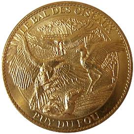 Arthus-Bertrand revers Trésors de France = 19 8510