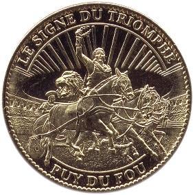 Arthus-Bertrand revers Trésors de France = 19 85_puy10