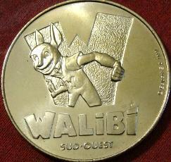 Arthus-Bertrand revers Trésors de France Walibi10