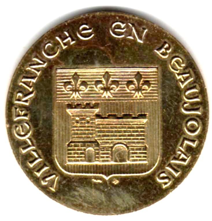 Mdp 30 mm - Médailles des Villes Z00511