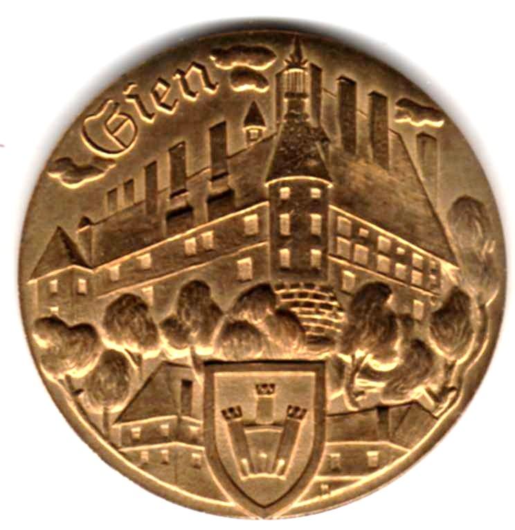 Mdp 30 mm - Médailles des Villes Z01311