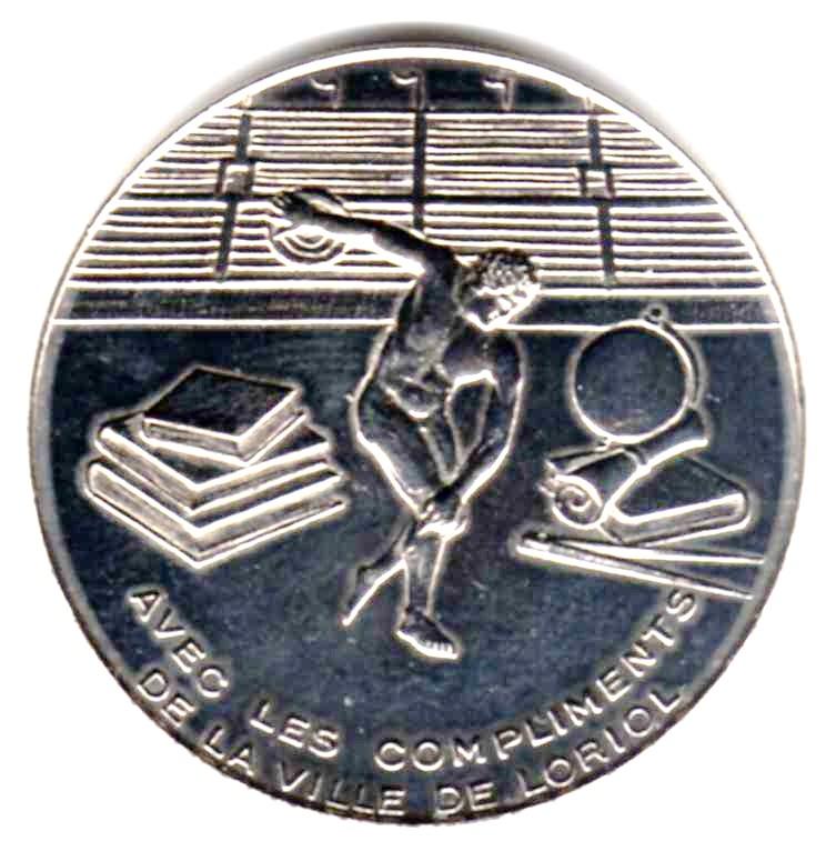 Mdp 30 mm - Médailles des Villes Z01612