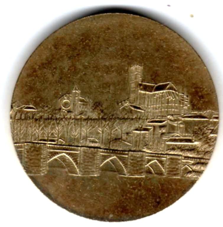 Mdp 30 mm - Médailles des Villes Z02012