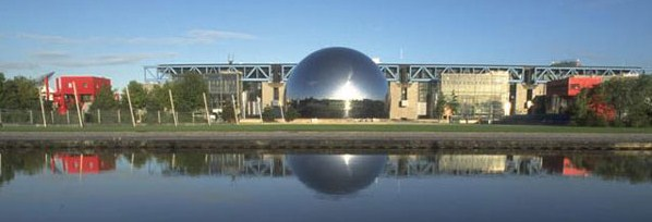 Cité des Sciences et de l'Industrie (75019) [Argonaute / Cité enfants / Géode / UEJL] Z02213