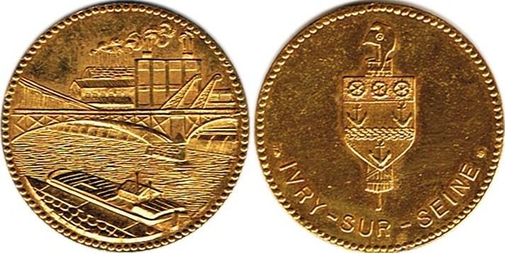 Mdp 30 mm - Médailles des Villes Zz110