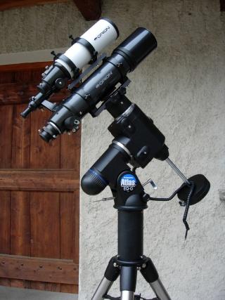 Travaux sur l'E3 et le telescope Dscn3410