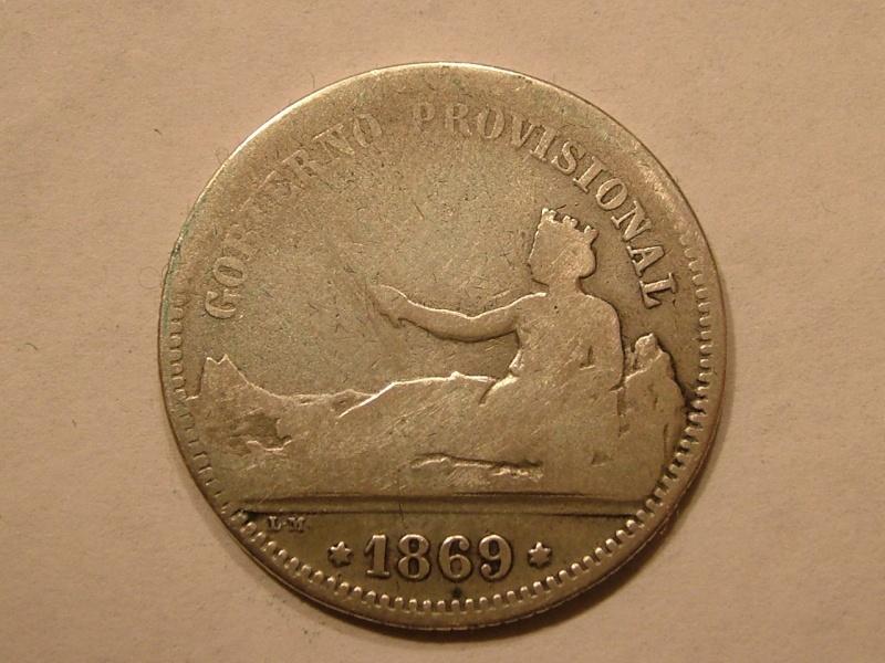 1 Peseta Gobierno Provisional (Madrid, 1869 d.C) Dscf2714