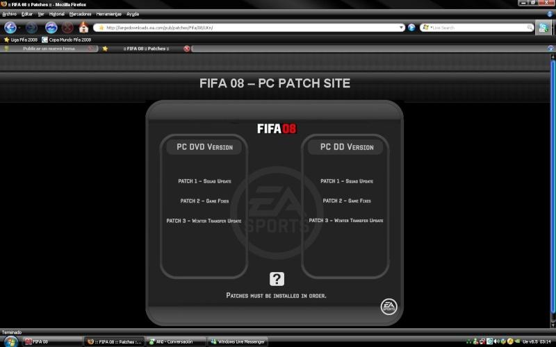 ACTUALIZACION DE FIFA RECOMENDADO Nueva_11