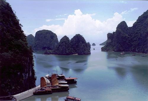 Baie d'Halong au Viet nam Halong10