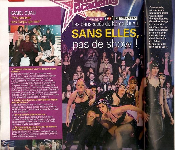 [Presse] Télé7Jours - Les danseurs de Kamel Articl10