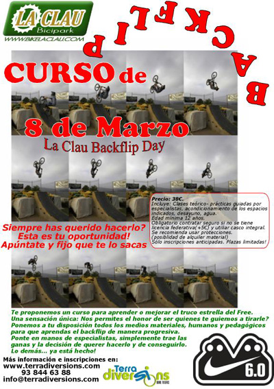 Curs de Backflip Cartel10