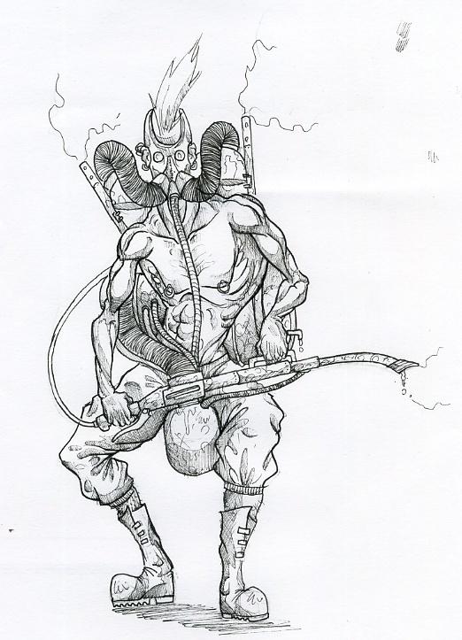 [projet] Comics, bande de super-héros punks Lance_10