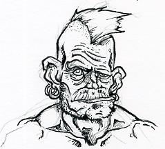 [projet] Comics, bande de super-héros punks Papy_p10