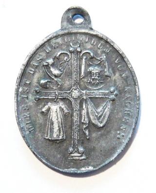 Santa Camisa de la Virgen en Chartres - s. XVII-XVIII (R.M. PFV-Camisa de Chartres 1) Aachen11