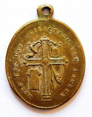Santa Camisa de la Virgen en Chartres - s. XVII-XVIII (R.M. PFV-Camisa de Chartres 1) Aachen12