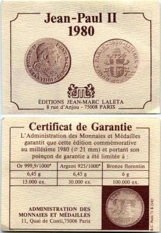 Juan Pablo II en Lisieux Certif10