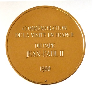 Juan Pablo II en Francia  P1020311
