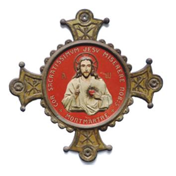 Vœu nationale Sacré-Coeur (Sagrado corazón) de Montmartre en París Sc0210