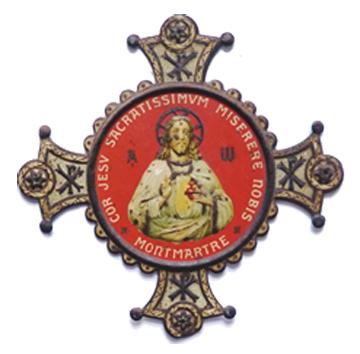 Vœu nationale Sacré-Coeur (Sagrado corazón) de Montmartre en París Sc0310