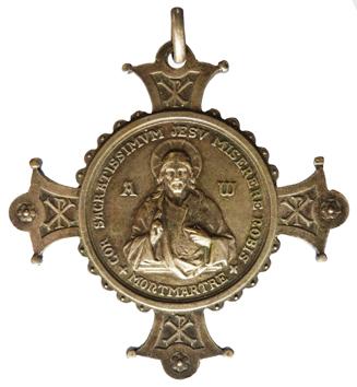 Vœu nationale Sacré-Coeur (Sagrado corazón) de Montmartre en París Sc110