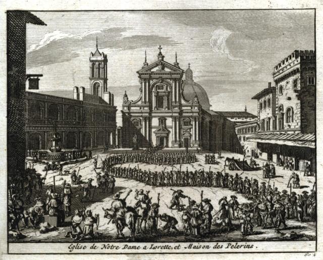 Traslación Santa Casa de Loreto / Dios Padre y Espíritu Santo -  S. XVI-XVII Scan-113