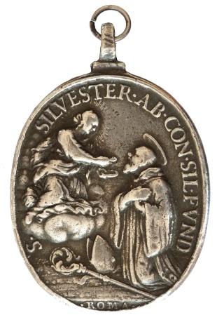 S. Silvestre de Guzzolini / S. Benito Abad de Nursia - S. XVIII (R.M. SXVIII-O77) St_sil11